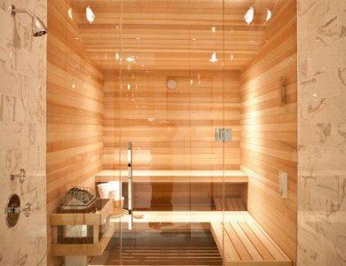Residential Sauna Bath